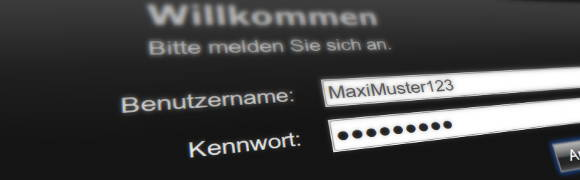 Symbolbild: Passwort und Passwortmanager