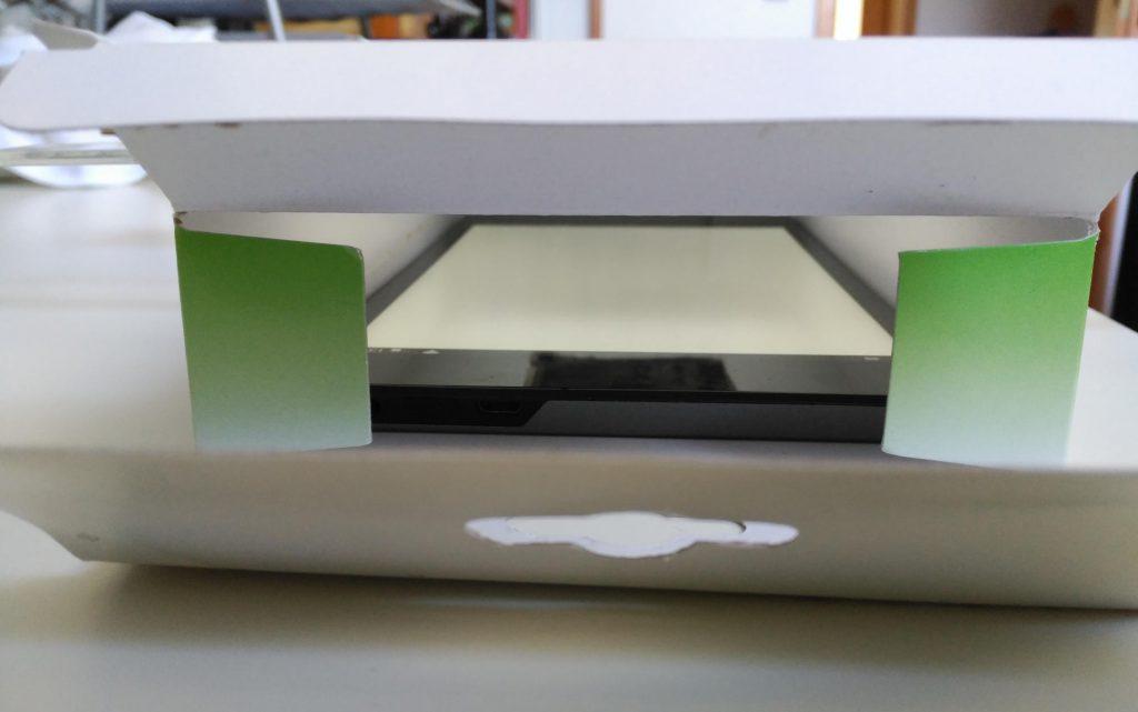 Mein DIY-Leuchtkasten: So sieht er von innen aus.